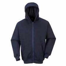 sUw - Flame Resistant Safety Workwear Zip Front Hooded Sweatshirt