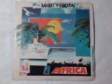 "MANUEL FRANCIOSA E' Africa 7"" ITALO DISCO RARISSIMO NEW"