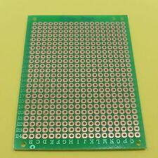 SOLDERING Fibra di Vetro 5 x 7cm unilaterale 2,54 mm UNIVERSALE Circuito PCB