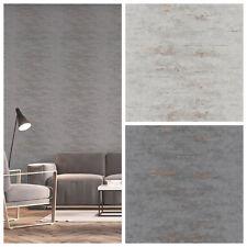 Vlies Tapete Uni Beton Stein Optik grau bronze metallic industrial Style Orion