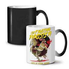 Fighting Rooster Fashion NEW Colour Changing Tea Coffee Mug 11 oz | Wellcoda