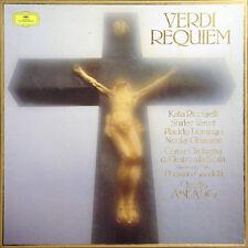 VERDI Requiem Claudio Abbado GER Press Deutsche Grammophon 2707 120 Boxset 2 LP