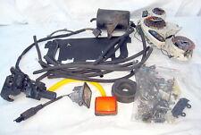 Honda 1988 CBR600 CBR Hurricane 600 misc Parts Gauges Brake Caliper etc.
