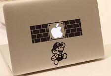Super Mario Brothers brick Mac Book/Air/Retina laptop sticker. Australia Made