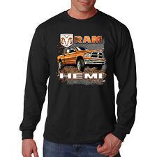 Dodge Ram Hemi American Cars Trucks Guts Glory Long Sleeve T-Shirt
