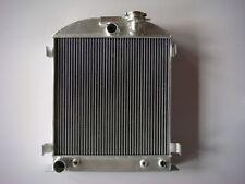 "NEW 3 ROW ALUMINUM RADIATOR FORD MODEL 40 FORD ENGINE CHOPPED 3"" 1933-1934"