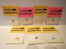 KEN'S KUSTOM DICE 1:24 1:25 PLASTIC MODEL KIT ACCESSORIES ALL COLOURS MOC (KS39)