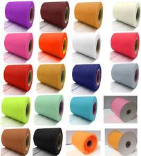 TULLE Roll Spool 15cm x 88.6 Metres Tutu Wedding Bridal Craft Bow Netting Fabric