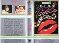 VICTOR VICTORIA (1982) VHS