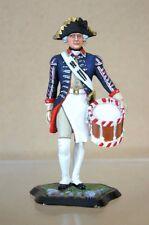 Tradición Stadden Prusiano 1st Guardia baterista 1756 siete años de guerra Studio Pintado