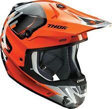 2017 Thor Verge Helmet vortechs Flo Orange/Grey  MX Motocross Off-Road Enduro