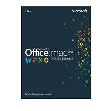 Microsoft Office Mac Home & Business 2011