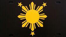 Philippines Filipino Pinoy Flag Logo Vinyl Decal Sticker V3