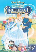 CINDERELA II: Dreams Come True-Authentic Disney (DVD, 2002) EXCELLENT CONDITION!