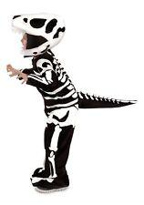 T-Rex Fossil Child Costume Skeleton Dinosaur Kids Youth Boys Girls Bones