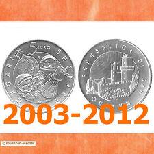 5 Euro Sondermünze San Marino Silber Prägejahr Ihrer Wahl 2003-2012 Sondermünze