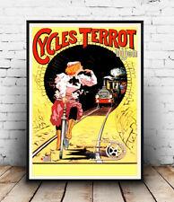 Ciclo Terrot, Vintage ciclo Poster Publicitario la reproducción.