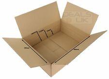 ROYAL MAIL SMALL PARCEL MAXIMUM SIZE SINGLE WALL BOX 440x340x144mm - WITH EDCs