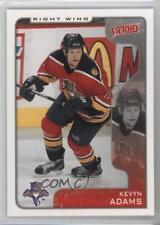 2001-02 Upper Deck Victory #147 Kevyn Adams Florida Panthers Hockey Card
