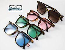 Occhiali da Sole TARTARUGA iFrames Quadrati Gradient Square Vintage Uomo Donna