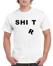 Pun Intended Joke Short Sleeve Novelty T-Shirt White