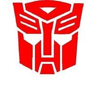 Transformers Autobot Vinyl Decal car truck window laptop cell tumbler cooler cup