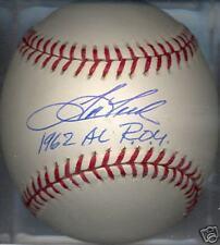 Tom Tresh New York Yankees 1962 AL ROY Signed Baseall