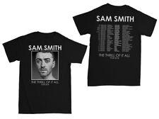 SAM SMITH - THE THRILL OF IT ALL Tour 2018 unisex T Shirt women men music UK EU