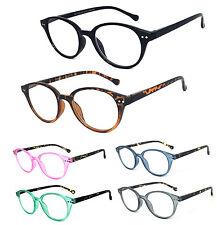 c01187eb2bc6d Leitor De Redondo Fechadura retrô óculos de leitura rebites de prata RE79  Dobradiças de mola