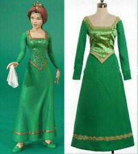 Halloween Costume Shrek Princess Fiona green Dress