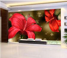 3D Blendungs Blume 37 Fototapeten Wandbild Fototapete Bild Tapete Familie Kinder