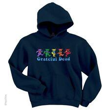 GRATEFUL DEAD-DANCING BEARS-HOODIE-SWEATSHIRT-PULLOVER M-L-XL-2XL Garcia,Lesh