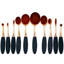 Kit 10 - 6 pcs pinceaux maquillage brosse ovale qualité professionnelle
