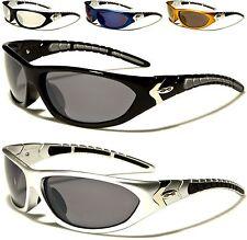 Nuevo Xloop señoras de las gafas Sol Negro Hombre Diseñador Golf Deportes Grande