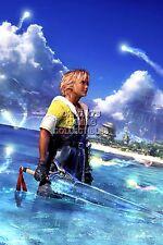 RGC Huge Poster - Final Fantasy X HD Remake Tidus PS2 PS3 PS4 PS Vita - FFX007