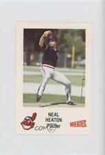 1984 Wheaties Cleveland Indians #44 Neal Heaton Rookie Baseball Card