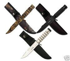 MC USA Survivor Fixed Blade Knife Messer Gürtelmesser Jagdmesser Taschenmesser