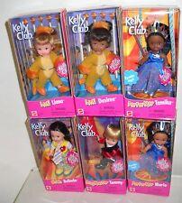 #8556 NRFB Mattel Barbie Kelly Club Set of 6 Circus Dolls