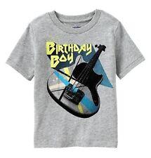 NWT Baby GAP Boys Birthday Boy Electric Guitar Graphic Tee Top U Pick Size! NEW