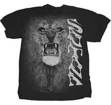 SANTANA - White Lion - T SHIRT S-M-L-XL-2XL Brand New - Official T Shirt