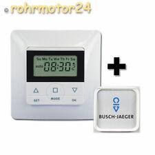 Rolladen Jalousie Zeitschaltuhr für Busch-Jäger Duro 2000/Reflex Si/Linear/alpha