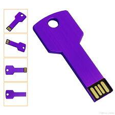 USB Germany KEY LILA USB Stick Lila Schlüssel USB Flash Drive 2.0