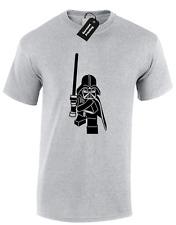 Lego Vader Hommes T SHIRT FUNNY dark retro Star Storm Jedi Wars Trooper Rétro