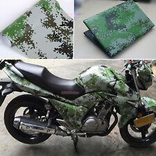 Bubbles Free DIY Car Digital Green Camouflage Camo Vinyl Wrap Film Sticker - AB