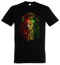 RASTAFARI LION I T-SHIRT Bob Reggae Marley Löwe Wailers Haile Selassie Jamaika