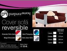 funda  sofa de 3 plazas tela reversible 1,2,4 Sofabezug tacto suave buen precio