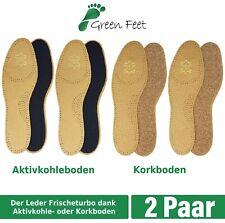 22-45 Neu Pedag Leather Kids Erwachs Leder Einlagen Sohlen Aktiv Kohlefilter Gr