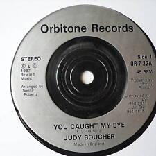 "JUDY BOUCHER - You Caught My Eye - Ex Con 7"" Single"