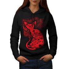 Nobody Perfect Sphynx Cat Women Hoodie NEW | Wellcoda
