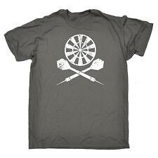 Darts Board Cross Design MENS T-SHIRT tee birthday gift dart dartboard pub dad
